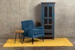 Kristina Ocean Blue Accent Chair designed in Portland, Oregon by Porter Designs