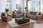 Colorado Gray & Brown Sofa, U7291 - LIMITED SUPPLY