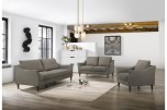 Bowen Gray Sofa, Loveseat & Chair Set, SWU4037