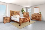 COMING SOON, PRE-ORDER NOW! Crossroads Natural Bedroom Set, VAC-C001