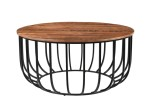 Alamosa Acacia Wood Coffee Table by Porter Designs
