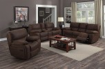 Ramsey Rodeo Leather Look Poly Reclining Set by Porter Designs, designed in Portland, Oregon