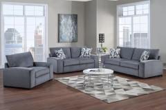 Clayton Gray Sofa, Loveseat & Chair, U5345
