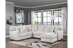 COMING SOON, PRE-ORDER NOW! Augusta Oatmeal 2pc Sectional, U1742