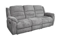 Ronan Gray Reclining Sofa, Console Loveseat & Chair, M8078