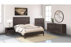 Fall River Obsidian Bedroom Set, HC4482S01