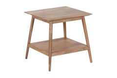 Portola Natural End Table with Shelf, 2005-003NT