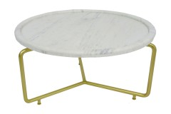 Marais Marble Coffee Table, 2622P - LIMITED EDITION