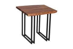 Manzanita Harvest End Table with Different Bases, VCS-ET24H