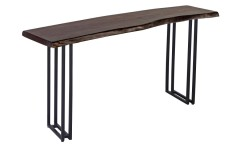 Manzanita Midnight Console Table with Different Bases, VCS-CS58M