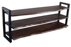 Manzanita Midnight Sheesham Shelves, VCA-BS66M
