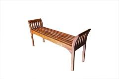 Sheesham Accents Harvest Bench, ART-2680-HRU