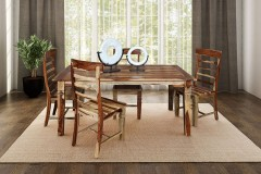 Tahoe Sheesham Wood Dining Table by Porter Designs -  designed in Portland