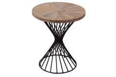 Yuma Acacia Wood End Table by Porter Designs