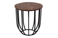 Alamosa Acacia Wood End Table by Porter Designs, designed in Portland, Oregon