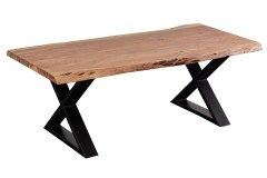 Manzanita Natural Coffee Table with Different Bases, VCA-CT48N